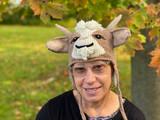 Al Johnson's Goat Stocking Cap (brown)