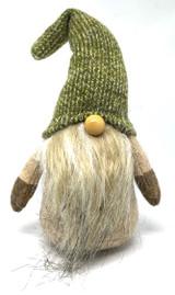 Long Beard Olive Hat Tomten