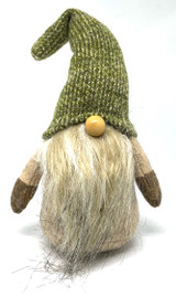 Long Beard Olive Hat Tomten