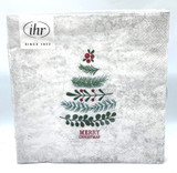 Natural Christmas Tree Dinner Napkin