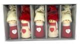 Boy & Girl Ornaments 5 Pack