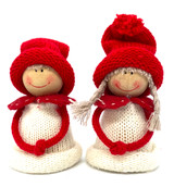 Boy and Girl Tomtar (white)