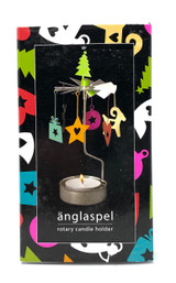 Ornaments Rotary Candle Holder