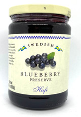 Halfi Swedish Blueberry Preserves