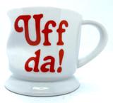 Uff Da Crumpled Mug