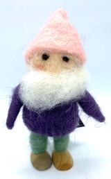 Felted Gnome Rupert