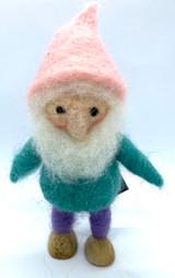 Felted Gnome Otto