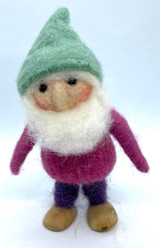 Felted Gnome Sven
