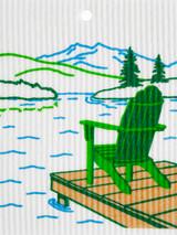 Lake Chair Swedish Dishcloth
