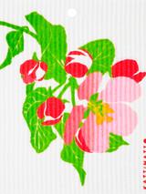 Apple Blossom Swedish Dishcloth