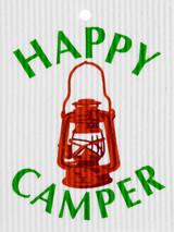 Happy Camper Swedish Dishcloth