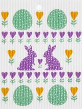 Bunny Egg Swedish Dishcloth