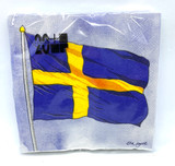 Swedish Flag Cocktail Napkins