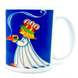 Blue Lucia Coffee Mug