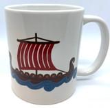 Viking Boat Coffee mug.
