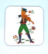 Swedish Folk Coaster Violin