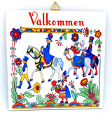 Swedish Couples Tile Trivet