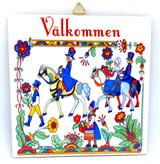 Swedish Couples Tile Trivet