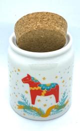 Dala & Pines Ceramic Jar