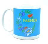 Farmor Floral Coffee Mug