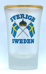 Swedish Flag Shot Glass