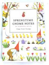 Springtime Gnome Notes Notecards
