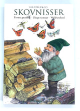 Forest Gnome Danish Art Notecards