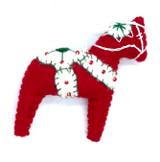 Dala Horse Felt Ornament