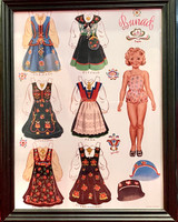Norwegian Paper Doll Art (blonde)