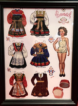 Norwegian Paper Doll Art (brunette)