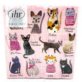 Cool Cats Cocktail Napkins