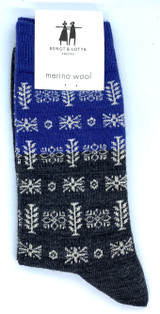 Bengt & Lotta Brigita Socks (blue)