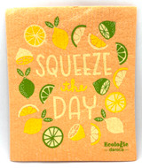 Squeeze the Day Swedish Dishcloth