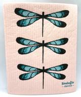 Dragonfly Swedish Dishcloth