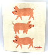 Penny Pig Swedish Dishcloth