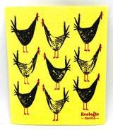 Chicken Scratch Swedish Dishcloth