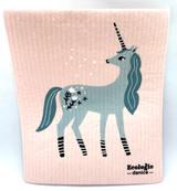 Unicorn Swedish Dishcloth
