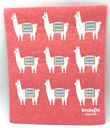 Lupe Llama Swedish Dishcloth