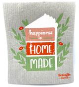 Happiness is Homemade Swedish Dishcloth