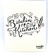 No Bitching Swedish Dishcloth