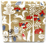 Squirrel and Berries Dinner Napkin
