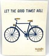 Let The Good Times Roll Swedish Dishcloth