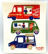 Food Trucks Swedish Dishcloth