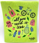 All You Need Is Less Swedish Dishcloth