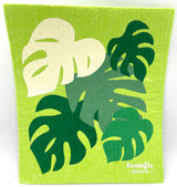 Monstera Swedish Dishcloth