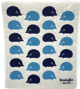 Happy Hedgehog Swedish Dishcloth