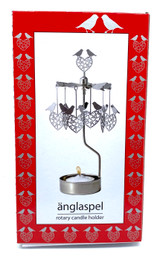 Lovebirds Rotary Candle Holder