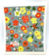 Flowers of the Month Swedish Dishcloth