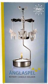 Änglaspel Dala Horse and Viking Ship rotary candle holder