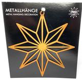 Snowflake Star Metal Ornament
